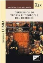 principios de teoria e ideologia del derecho giuseppe lumia 9789567799954