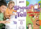 oxford show and tell 3 student book with multirom-9780194779364