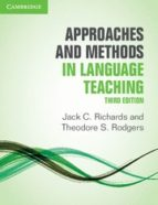 approaches and methods in language teaching 3rd edition 9781107675964