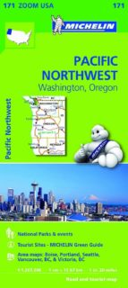 mapa zoom pacific northwest-9782067190764