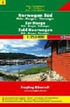 sur de noruega, oslo, bergen y stavanger, mapa de carreteras (1:2 50000) (freytag & berndt)-9783707903164