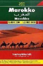 marruecos, mapa de carreteras (1:800000) (freytag & berndt)-9783707911664