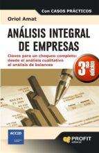 analisis integral de empresas oriol amat 9788415735564