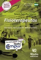 temario específico vol. 1. fisioterapeutas del sas. 9788416963164