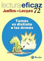 tomas es distinto a los demas (educacion primaria) (juegos de lec tura 72)-carlos miguel alvarez alberdi-9788421637364