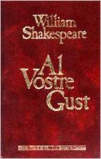 al vostre gust w shakespeare 9788431622664