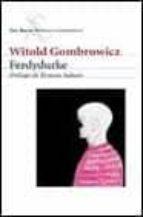 ferdydurke-witold gombrowicz-9788432219764