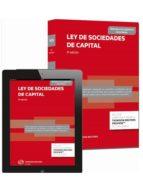 ley de sociedades de capital (3ª ed.) (duo) 9788447050864