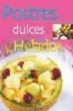 postres dulces y helados gloria sanjuan 9788466210164