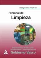 test y casos practicos para personal de limpieza del gobierno vas co 9788466506564