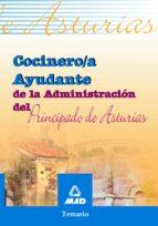 cocinero/a ayudante de la administracion del principado de asturi as: temario 9788466523264
