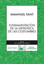 fundamentos de la metafisica de las costumbres-immanuel kant-9788467028164