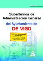subalterno de administracion general del ayuntamiento de vigo. te mario 9788467646764