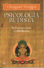 abhidharma psicologia budista chögyam trungpa 9788472451964