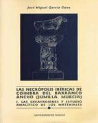 las necropolis ibericas de coimbra del barrancho ancho jose miguel garcia cano 9788476848364