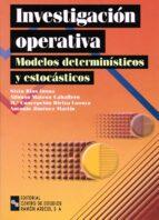 investigacion operativa: modelos deterministicos y estocasticos-sixto rios insua-9788480046664