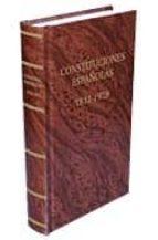 constituciones españolas 1812 1978 9788484068464