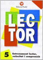 entrenament lector  , velocitat i comprensió  nº 5 lletra manuscrita  (c.i. m.) 9788486545864