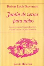 jardin de versos para niños robert louis stevenson 9788490021064