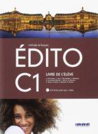 edito c1 eleve+dvd rom 2º bachillerato ed. 2018 9788490492864