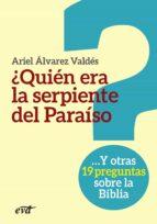 ¿quién era la serpiente del paraíso? - epub (ebook)-ariel alvarez valdes-9788490732564