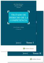 tratado de derecho de la competencia 2 ed jose maria beneyto 9788490902264
