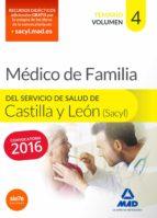 medico especialista en medicina familiar y comunitaria del servicio de salud de castilla y león (sacyl). temario volumen iv-rocio clavijo gamero-9788490934364