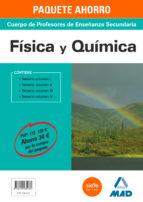 paquete ahorro física y química cuerpo de profesores de enseñanza secundaria-9788490935064