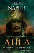 atila ii: los hunos a las puertas de roma william napier 9788497346764