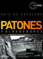 patones y alrededores guia de escalada (2015) (3ª ed.) jose manuel velazquez gaztelu 9788498293364