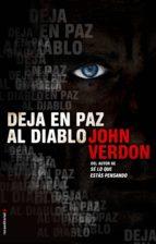 deja en paz al diablo (ebook)-john verdon-9788499185064