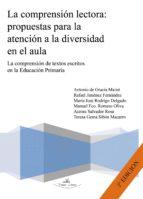 la comprensión lectora: propuestas para la atención a la diversidad en el aula. (ebook)-9788499837864