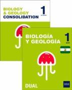 inicia dual biología y geología 1.º eso programa bilingüe andalucía. pack alumno-9780190512774