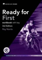 ready for first c workbook +key pack 3rd ed key + audio cd pack roy norris 9780230440074