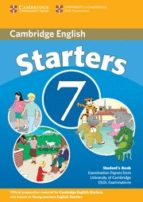El libro de Cambridge young learners english tests starters 7 student s book autor VV.AA. PDF!