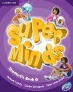 super minds level 6. student´s book with cd rom herbert puchta günther gerngross peter lewis jones 9780521223874