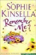 remember me? sophie kinsella 9780552775274