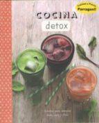 cocina detox 9781474857574