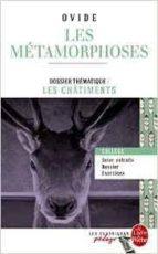 les métamorphoses (edition pedagogique) publio ovidio nason 9782253183174