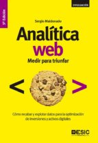 analítica web (ebook) sergio maldonado 9788416462674