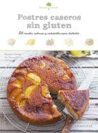 sabores & bienestar: postres caseros sin gluten 9788416984374