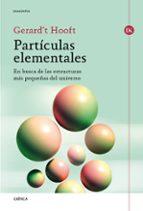 particulas elementales-gerard t hooft-9788417067274