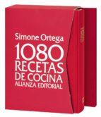 1080 recetas de cocina  (estuche + agenda) simone ortega 9788420678474