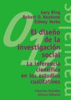 el diseño de la investigacion social: la inferencia cientifica en-gary king-robert o. keohane-sidney verba-9788420686974