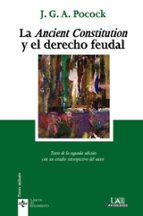 la ancient constitution y el derecho feudal-j.g.a. pocock-9788430952274