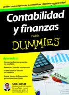contabilidad y finanzas para dummies-oriol amat-9788432900174