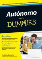 autonomo para dummies roberto gonzalez fontenla 9788432902574
