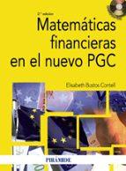 matematicas financieras en el nuevo pgc (2ª ed.) elisabeth bustos contell 9788436823974