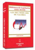 Ley del mercado de valores MOBI EPUB 978-8447019274