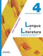 Lengua y literatura 4. (madrid) por Vv.Aa.